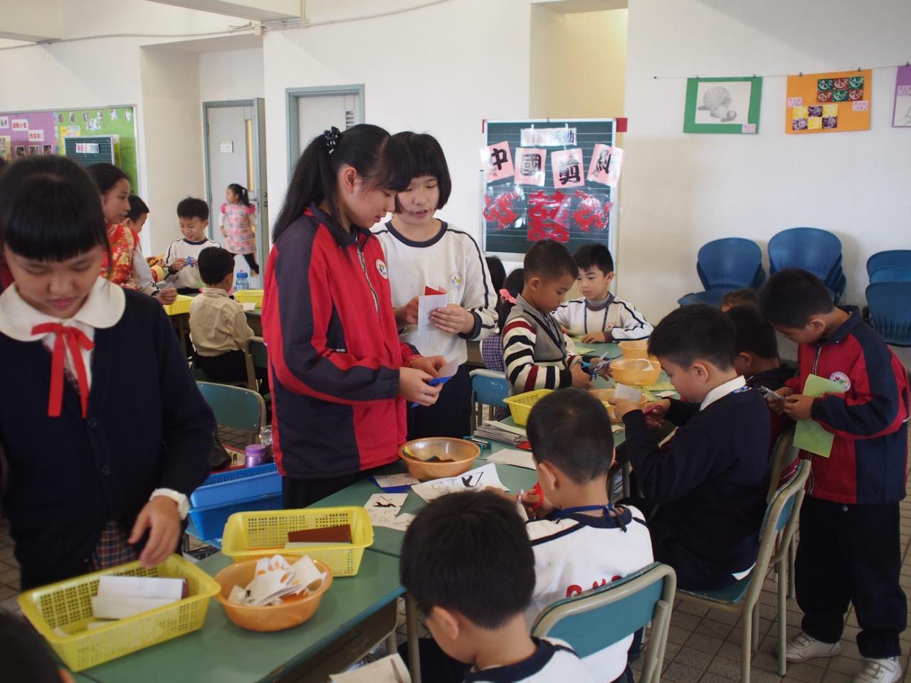 中華文化周剪紙活動